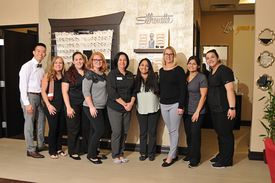 our doctors  u0026 staff at marciano family optometric in west